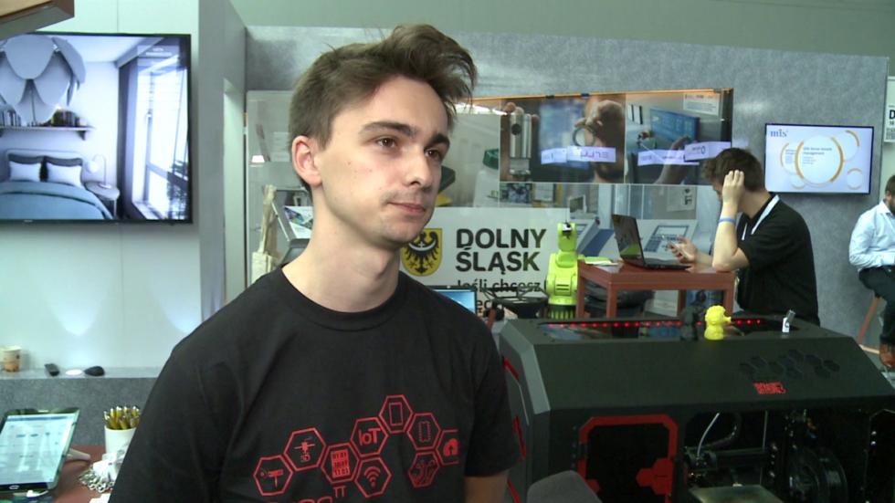 Studenci Politechniki Wrocławskiej stworzyli prototyp drukarki 3D z wbudowanym skanerem 3D