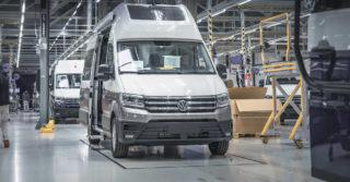 Model VW Grand California produkowany jest na cały świat wyłącznie w Poznaniu