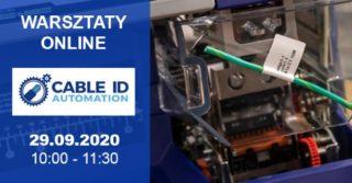 Warsztaty ONLINE: Zautomatyzowana identyfikacja kabli ikomponentów