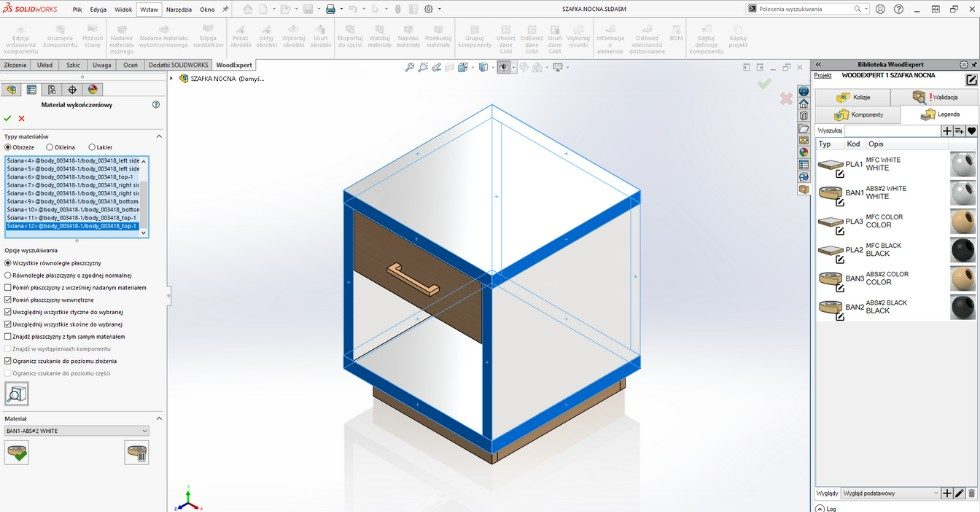 WOODEXPERT – software 3D CAD do projektowania mebli