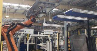 Linia produkcyjna producenta metalowych drzwi