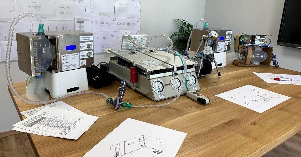 Wentylator dla pacjentów z COVID-19. Kolejne polskie rozwiązanie na brak respiratorów