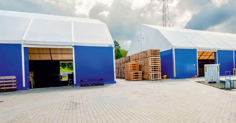Jak powstają hale namiotowe? Technologia produkcji obiektów halowych