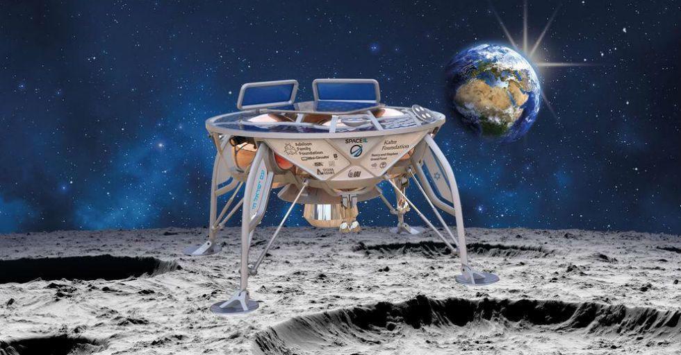 Izrael z pomocą SpaceX Falcon 9 wysyła swój pierwszy prywatny lądownik na Księżyc