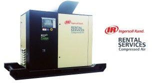 Ingersoll Rand wprowadza usługi Compressed Air Rental Services