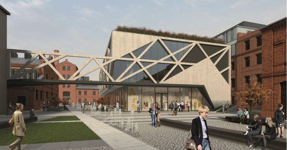 Centrum Praskie Koneser –  rewitalizacja i rozbudowa dawnej Wytwórni Wódek