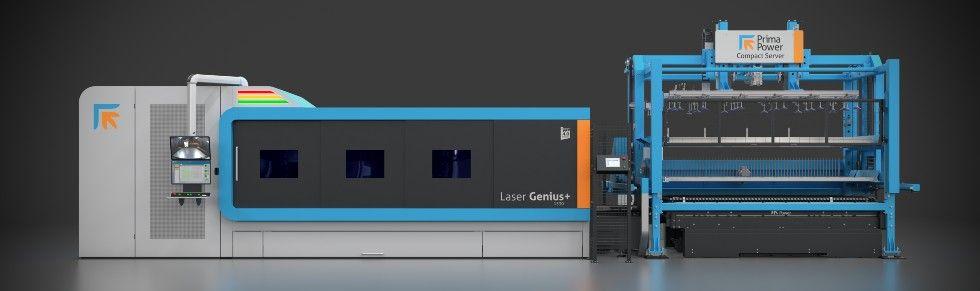 Laser Genius+ zautomatyzacją Compact Server