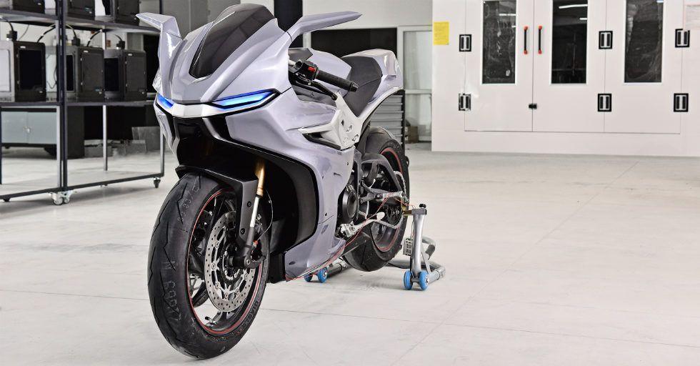 Zortrax: komponenty motocykla z drukarki 3D