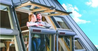 Fakro / Nowatorskie okno balkonowe FGH-V