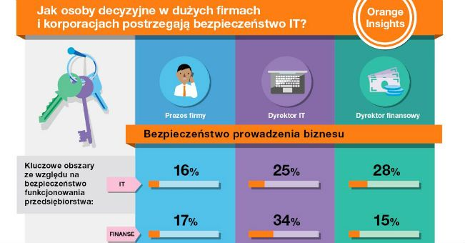 Bezpieczeństwo IT w ocenie szefów korporacji