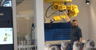 Centrum Programowania Robotów Przemysłowych na Wyspie Ostrów