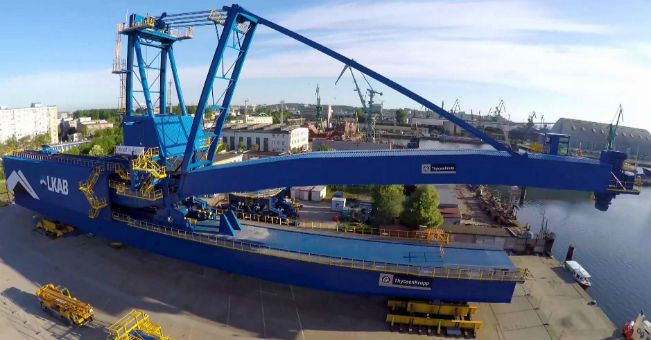 Zamet Industry: shiploader płynie do Norwegii