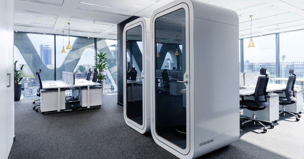 Design nie mniej ważny niż wybór powierzchni biurowej
