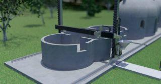 Polska drukarka 3D do aplikacji budowlanych wykorzystujących beton na ukończeniu