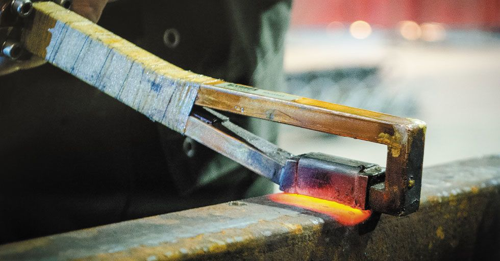 Podgrzewanie indukcyjne metali