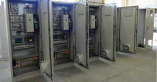 Układy sterowania i napędu w procesach technologicznych
