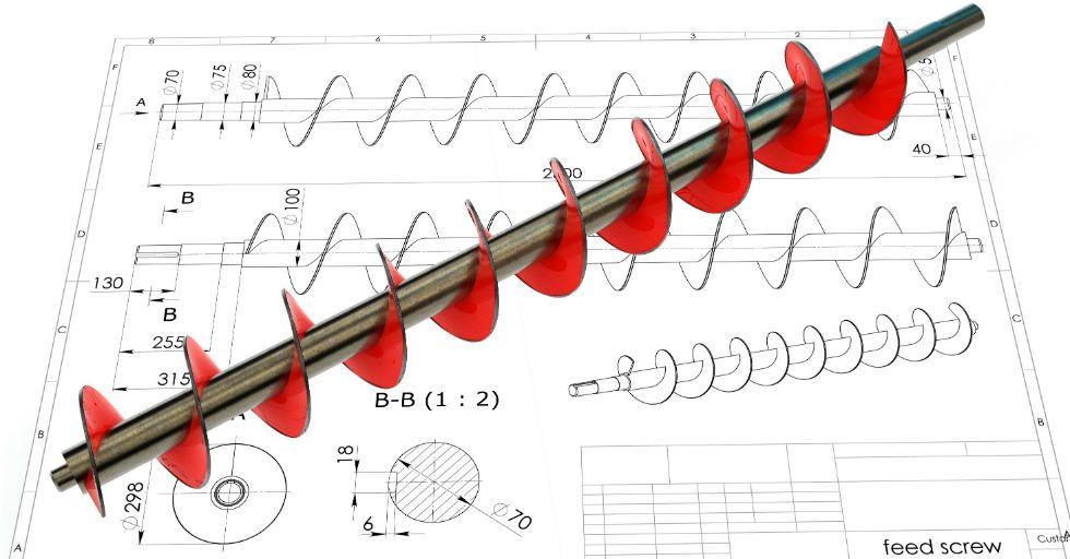 Jak zaprojektować śrubę Archimedesa w SOLIDWORKS