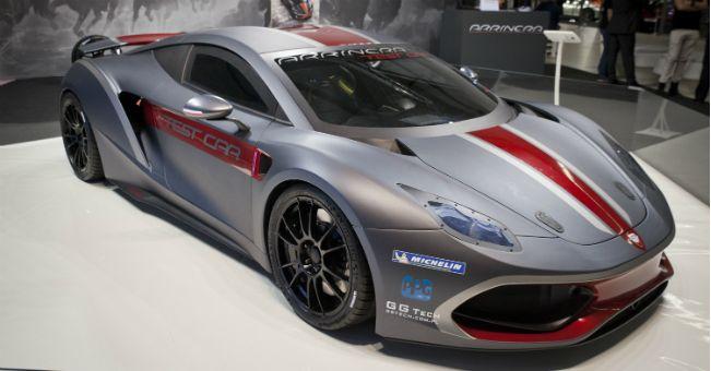Premiera wyścigowej ArrineraGT4 na The Racing Car Show w Birmingham