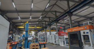 Modernizacja oświetlenia w branży metalowej