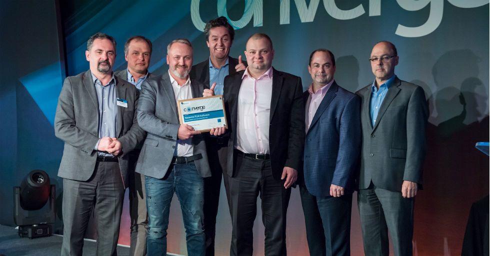 """CAMdivision z tytułem """"Top Partner in Poland FY17"""" SIEMENS PLM Software"""