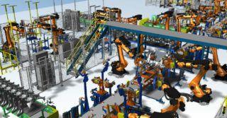 Projektowanie procesów produkcyjnych wraz z programowaniem robotów przemysłowych w myśl Przemysłu 4.0