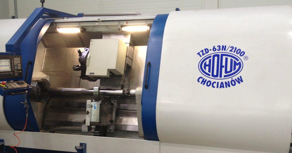 Chofum-Obrabiarki: produkcja i remonty obrabiarek sterowanych numerycznie