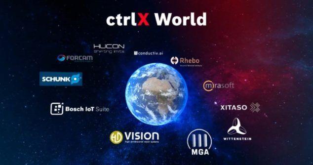 ctrlX World: otwarty ekosystem obejmujący aplikacje do wszystkich zadań w dziedzinie automatyzacji