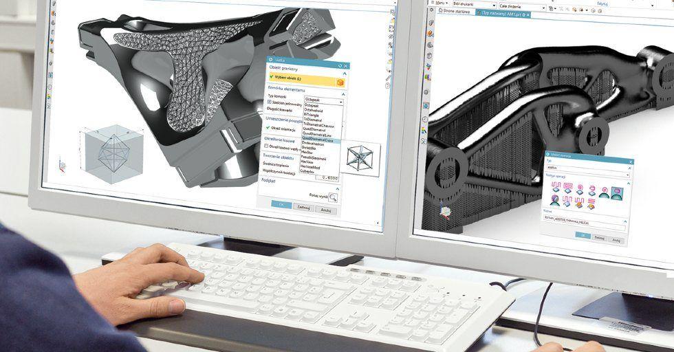 Druk 3D tworzyw i metalu z wykorzystaniem oprogramowania NX