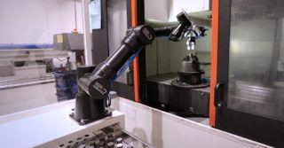 Aplikacja zrobotyzowanego stanowiska dla maszyn CNC