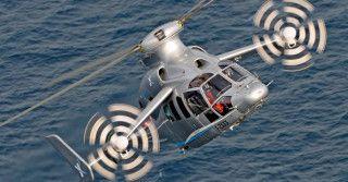 Eurocopter X3: najszybszy helikopter świata
