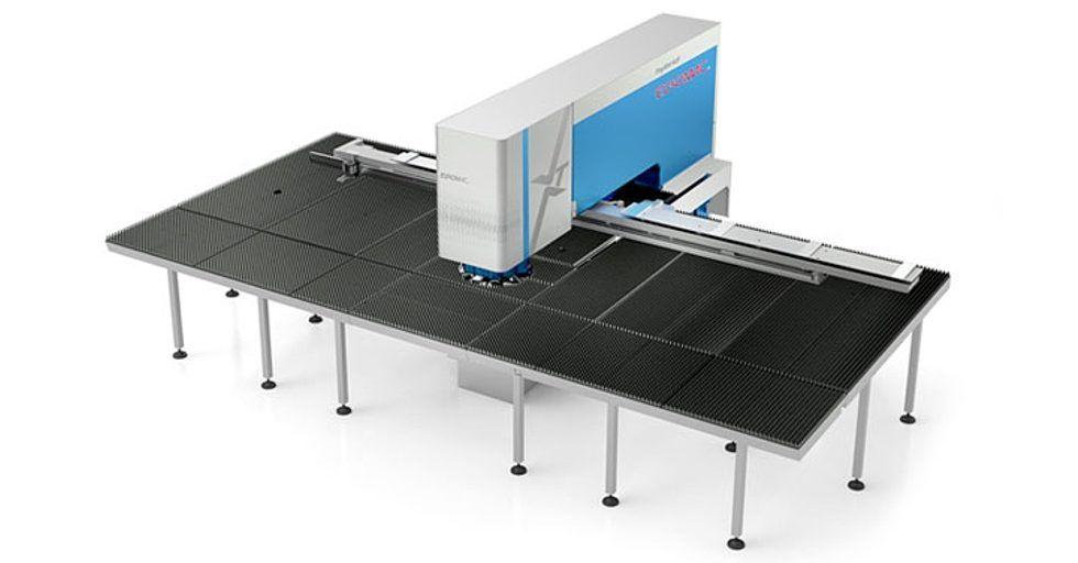 Technologia sterowania ruchem do wykrawarek, pras krawędziowych i giętarek