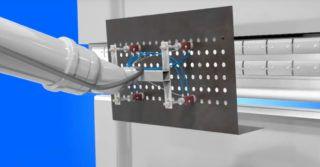 Przenoszenie i obsługa blach za pomocą chwytaka magnetycznego
