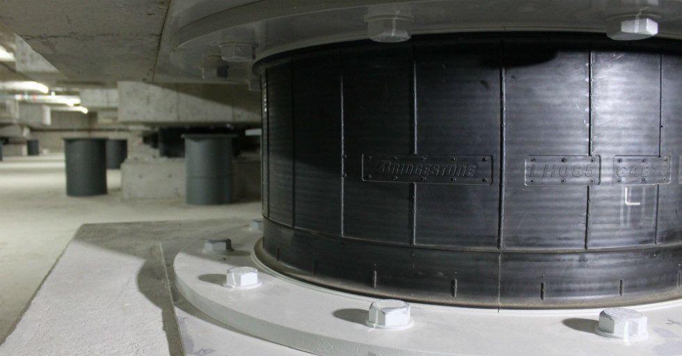 Łożyska antywibracyjne pomogą w ochronie przed trzęsieniami ziemi na igrzyskach w Tokio 2020