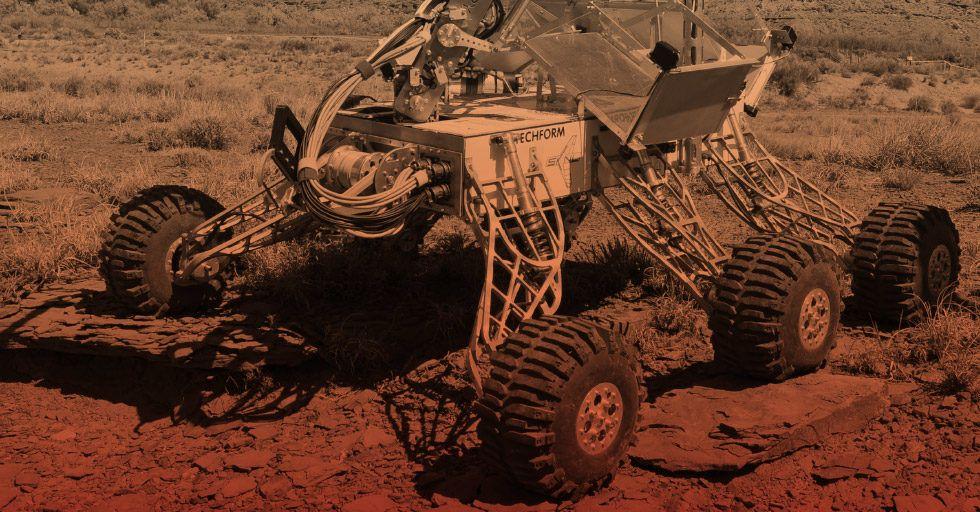 Legendary Rover Team: sami zaprojektowali i zbudowali zwycięski łazik