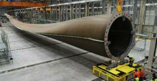LM Wind Power produkuje najdłuższe łopaty do turbin wiatrowych
