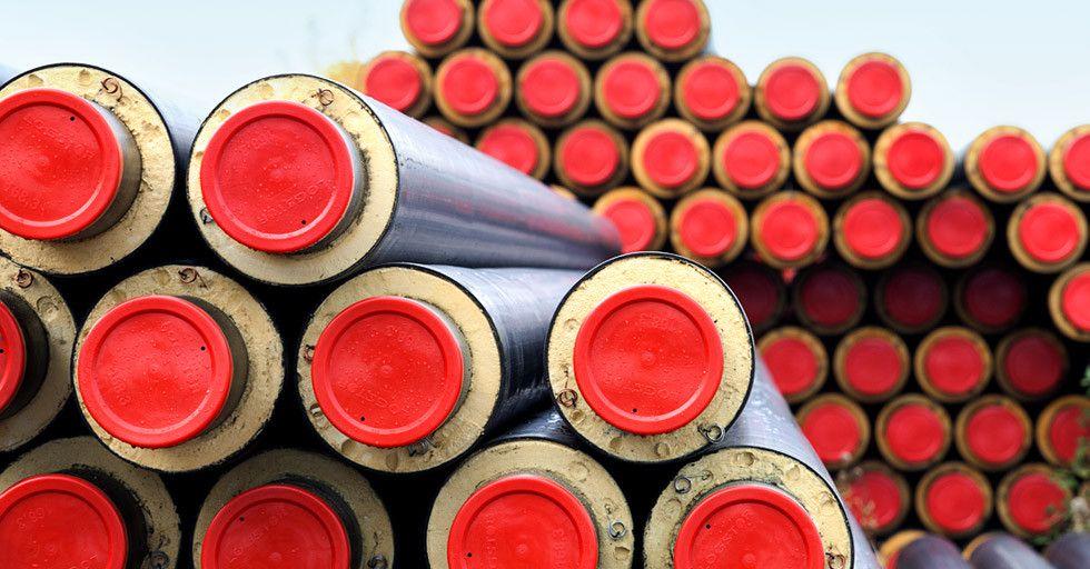 Systemy rur preizolowanych przeznaczonych do energooszczędnego transportu gazów i cieczy