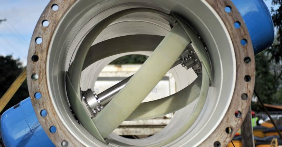 LucidEnergy pomaga Portland wygenerować czystą energię elektryczną w ich systemie wodociągów