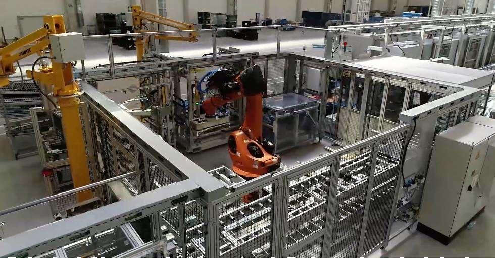 Jak rośnie nowa fabryka baterii Mercedes Benz w Jaworze