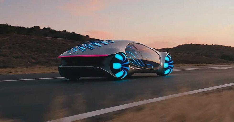 Motoryzacyjna inspiracja: Mercedes pokazał Vision AVTR