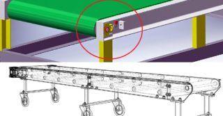Jak wykorzystać napinacze suwakowe w konstruowaniu przenośników taśmowych?