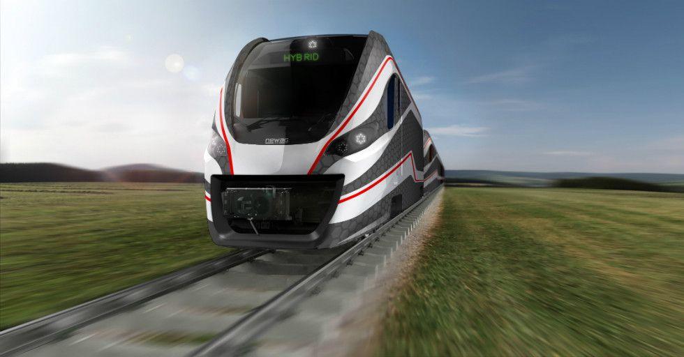 Nowatorski projekt pociągu spalinowo-elektrycznego