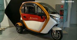 Trójkołowy pojazd elektryczny przyszłością usług kurierskich i pocztowych