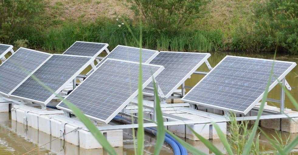 Energa wdraża projekt instalacji paneli fotowoltaicznych na wodzie