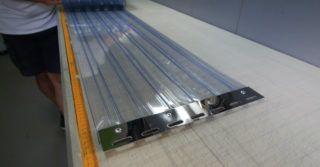Kurtyny paskowe z PCV dla powierzchni magazynowych