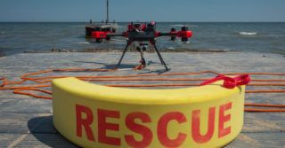 Zastosowanie dronów w ratownictwie wodnym