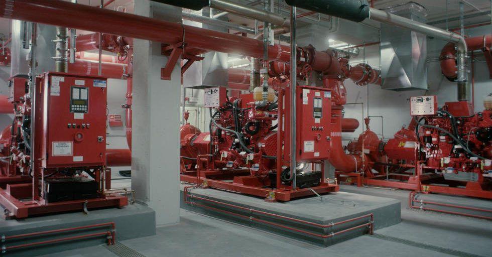Jak ugasić pożar w 3 min w magazynie o kubaturze blisko 70 tys. m3?