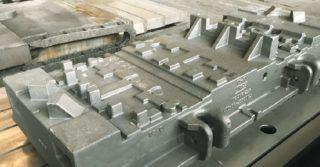 Produkcja odlewów żeliwnych o ciężarze do 50 t