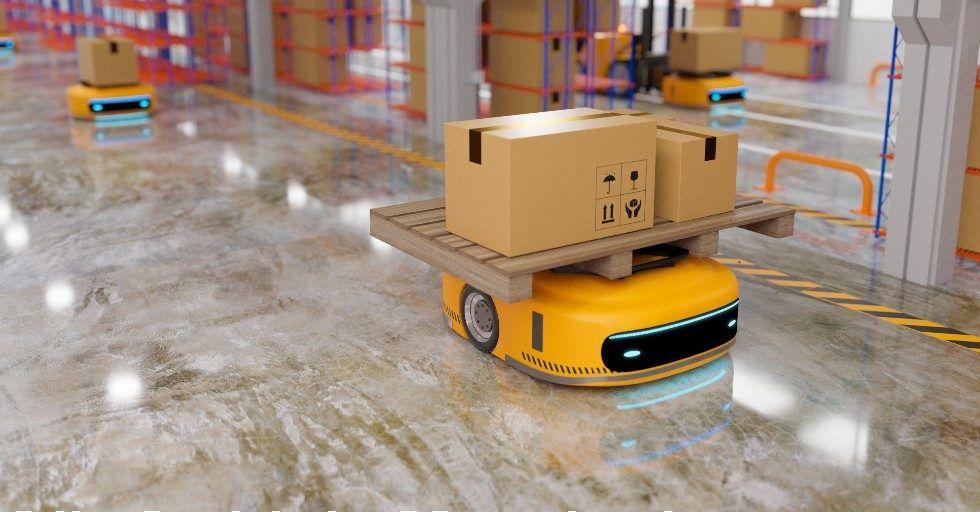 RAPORT: rynek robotów mobilnych na świecie – październik 2021