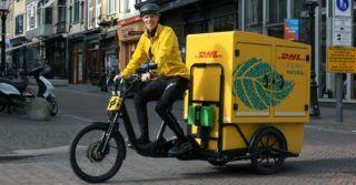DHL Express wprowadza pierwszy elektryczny rower kurierski