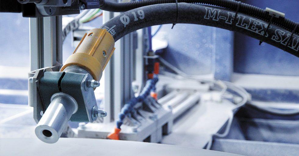 SANT-TECH: maszyny do obróbki strumieniowo-ściernej i systemy filtrowentylacyjne